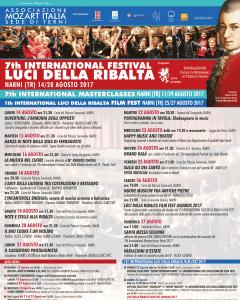 """7° Festival Internazionale """"Luci della Ribalta"""""""