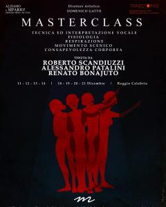I° Concorso Internazionale Beppe De Tomasi e Master Class di Canto e Movimento Scenico