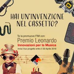 Premio Leonardo 2019 - Concorso delle Idee Innovative per la Musica