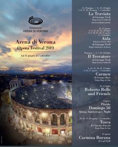 AIDA in Edizione Storica 1913 - Stagione Lirica areniana 2019