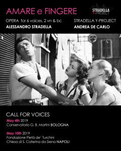 STRADELLA Y-PROJECT 2019 CALL FOR VOICES/INSTRUMENTS