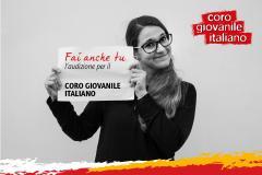Audizioni per Coro Giovanile Italiano