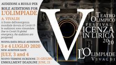Audizioni per l'opera L'Olimpiade di Vivaldi