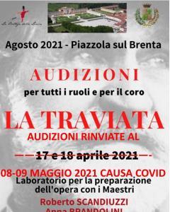 "Audizioni Opera Lirica ""La Traviata"" di G.Verdi"