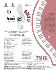 Premio Internazionale Sardegna - Pianoforte e Canto  Lirico