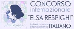 Concorso Internazionale Elsa Respighi, Liriche da camera ottonovecento italiano