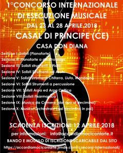 1° Concorso Internazionale Esecuzione Musicale