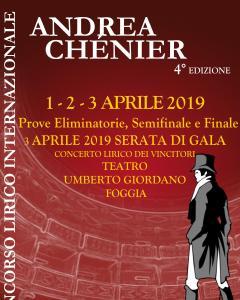 4° Concorso Lirico Internazionale Andrea Chénier