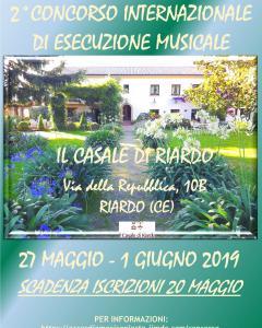 2° Concorso Internazionale di Esecuzione Musicale