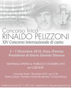 """Concorso Lirico Internazionale """"R. Pelizzoni"""""""