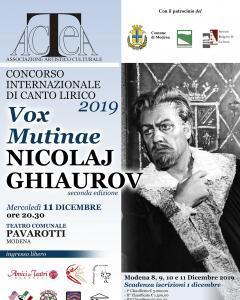 Concorso Internazionale di Canto Lirico Nicolaj Ghiaurov