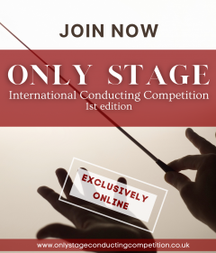 ONLY STAGE International Conducting Competition ONLINE