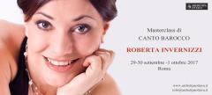 Masterclass di canto barocco con Roberta Invernizzi