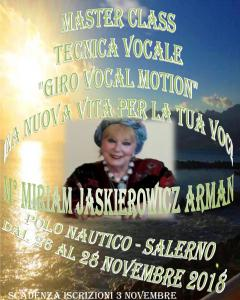 """Miriam Jaskierowicz Arman Tecnica Vocale """"Giro Vocal Motion"""""""