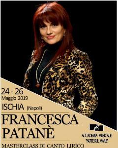 Masterclass di Canto Lirico / Alto Perfezionamento Stilistico-Vocale   Docente : FRANCESCA PATANE'