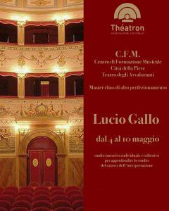 Lucio Gallo masterclass