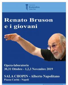 Renato Bruson e i giovani - Opera laboratorio