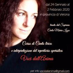 """Corso di Canto Lirico """"Voci dall'Anima"""""""