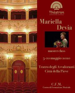 Mariella Devia master class