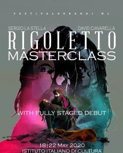Rigoletto Master-class con opportunita' di debutto