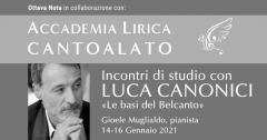 Incontri di Studio con Luca Canonici