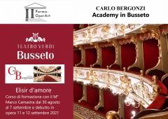 ELISIR D'AMORE - Masterclass con MARCO CAMASTRA
