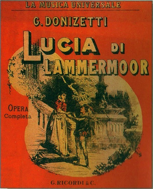 Image result for lucia di lammermoor