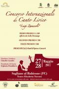 """15° Concorso Internazionale di Canto Lirico """"Luigi Zanuccoli"""""""