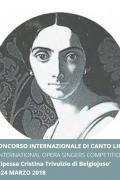 """11° Concorso di Canto Lirico """"Principessa Cristina Trivulzio di Belgiojoso"""""""