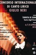 """X Concorso Internazionale di Canto Lirico """"Giulio Neri"""""""