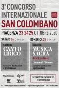 Terzo Concorso Internazionale San Colombano