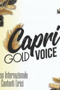 III Concorso Capri Opera Festival Sezione Giovani Talenti Gold Voice
