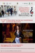 Concorso Internazionale di Canto Lirico Citta' di Belluno 2021